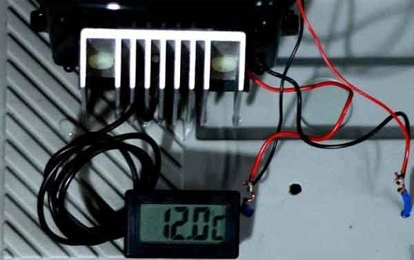 Термоэлектрический генератор на полупроводнике