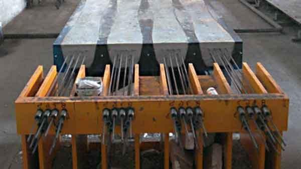 Предварительно-напряжённый бетон