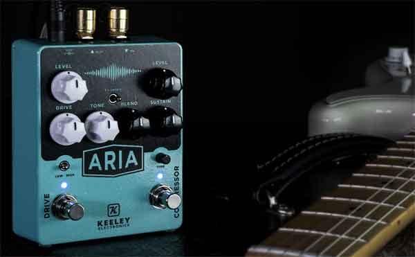 Ария - приставка компрессор для электрогитары