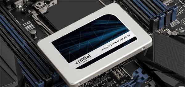 Устройство SSD модель Crucial MX-300