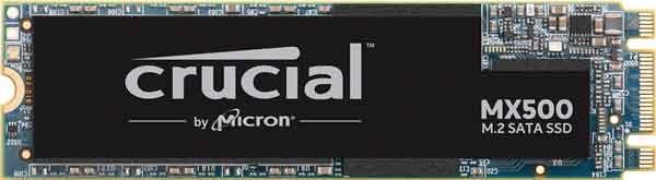 SSD накопитель модель Crucial MX-500