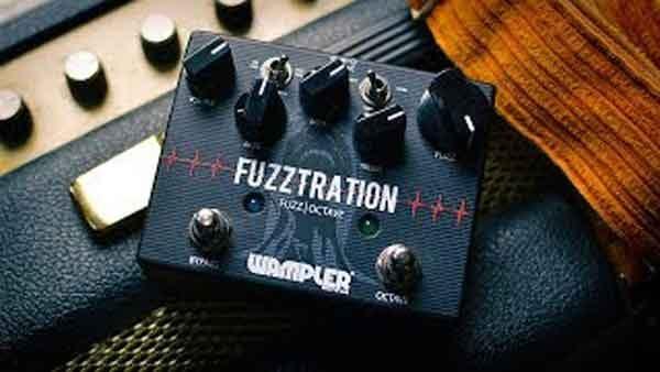 Fuzztration Octavia - примочка электрогитары