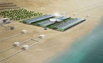 Новая солнечная установка опреснения морской воды