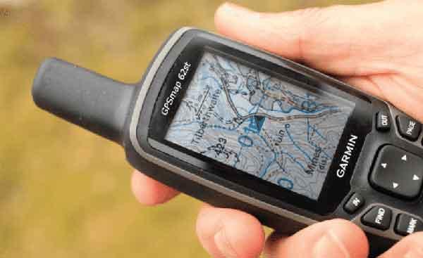 Портативный GPS приёмник