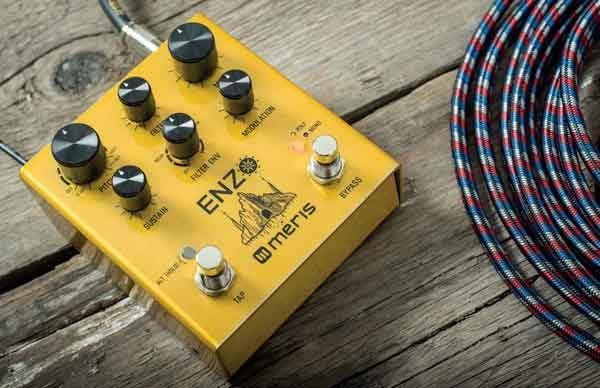 Эффект синтезатора для электрогитары