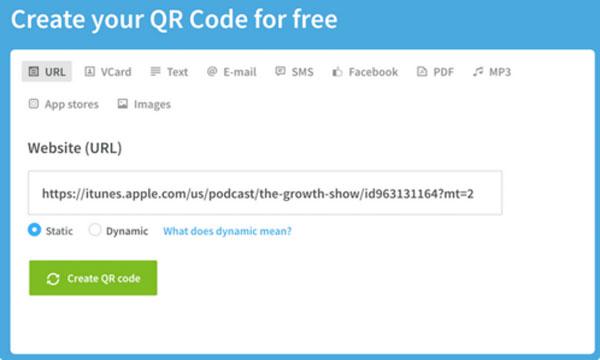 Сервис создания QR-кода