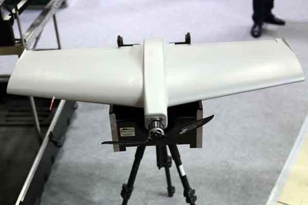 Взрывающийся БПЛА «KYB» на выставке вооружений «IDEX-2019»