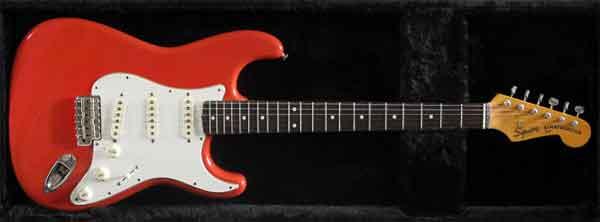 Электрогитара Fender Squier