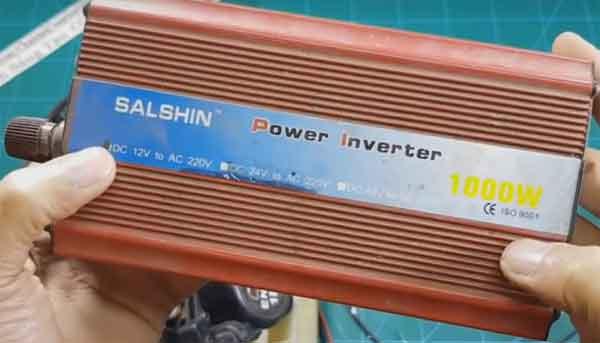 Инвертор фирмы Salshin для бытового генератора