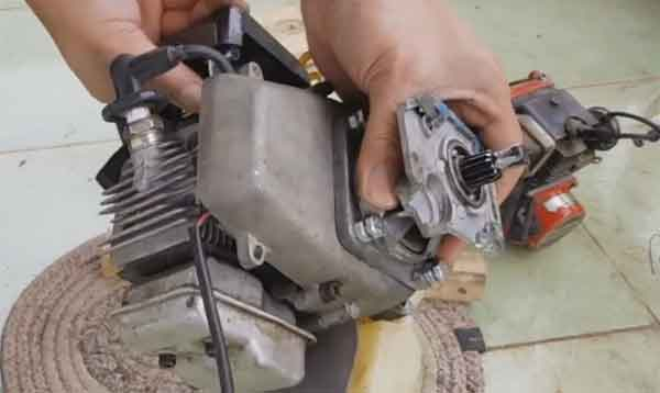 Мотор газонокосилки для домашнего генератора