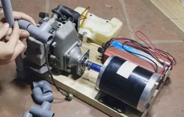Основные смонтированные блоки генератора