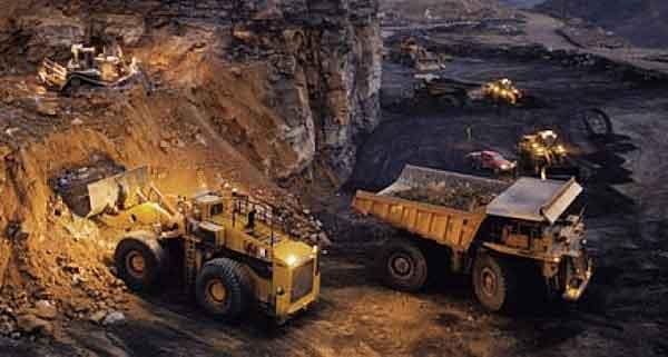 Промышленная добыча золота в рудниках