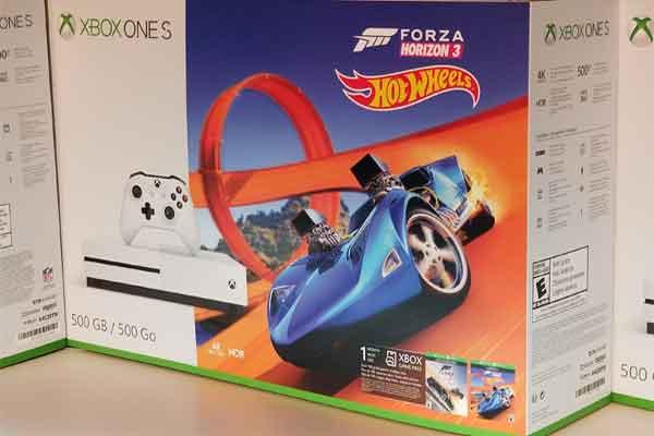 Xbox OneS Forza Horizon 3 Bundle в качестве подарка