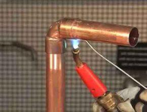 Медные трубы: инструкция пайки медных соединений (мягким припоем)