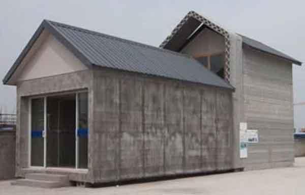 Строительство домов - шанхайский проект 3D печати