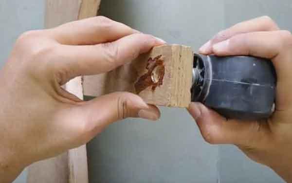 Направляющий ролик в самодельной конструкции