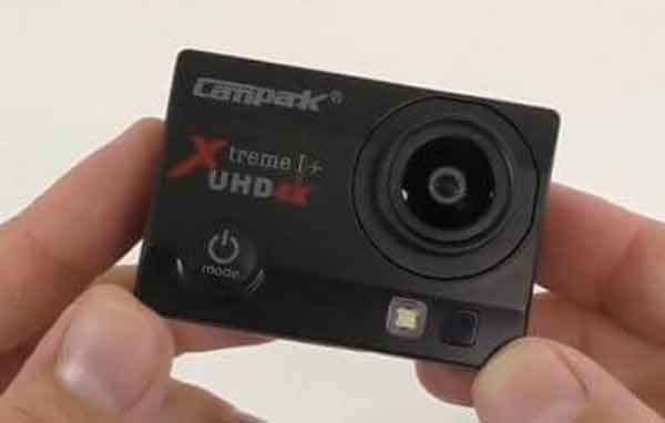 Нательная видеокамера Campark ACT74