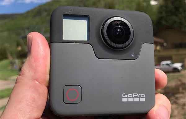Нательные видеокамеры GoPro Fusion