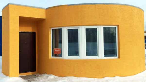 Печатный проект жилого дома от Apis Cor