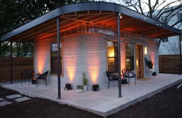 Строительство домов 3D печатью инструментами компании ICON