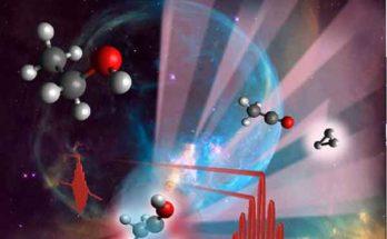 Молекула мира H3 + изучается учёными с помощью лазера