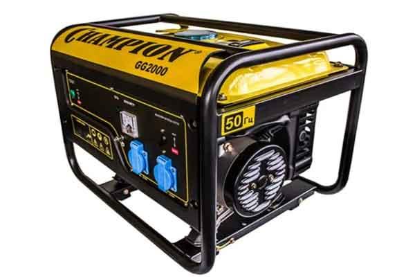 Портативные генераторы: модель CHAMPION GG2000