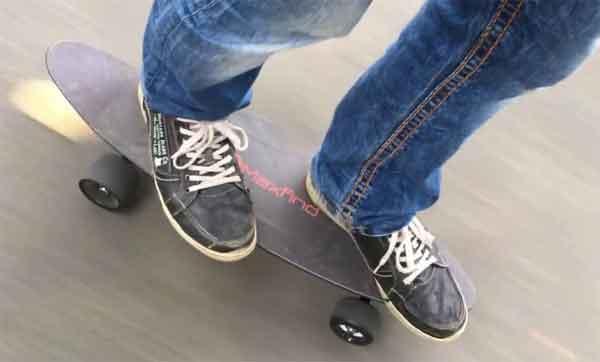 Электрические скейтборды: модель Maxfind Max C Mini Cruiser