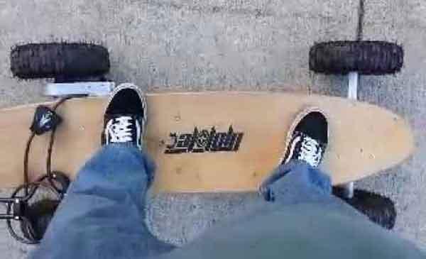 Электрический скейтборд MotoTec MT-SKT-1600