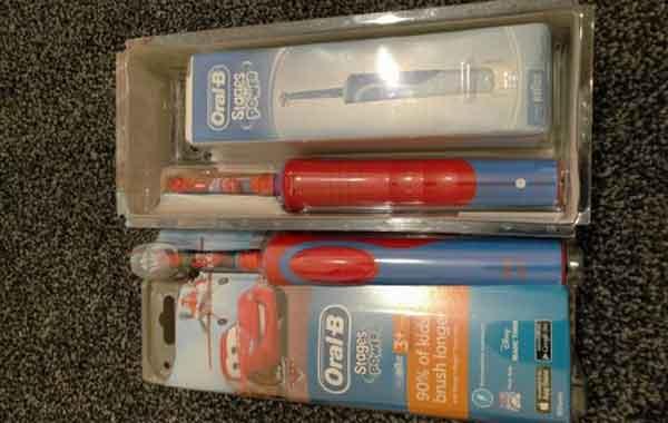 Детские электрические зубные щётки Oral B Kids Electric