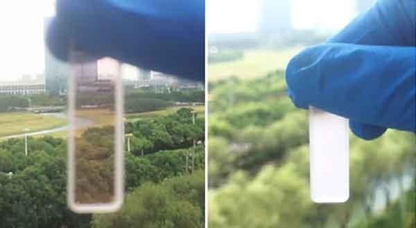 Эффект «умного» окна, полученный в лабораторных условиях