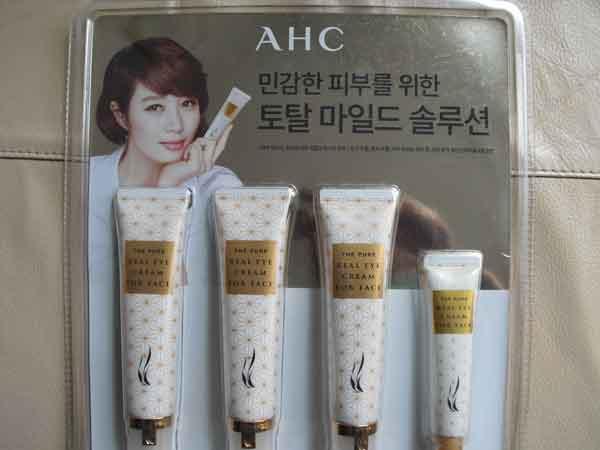 """Антивозрастной крем A.H.C. для кожи лица и в области глаз на """"Amazon"""""""