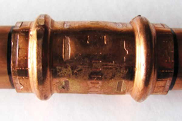 Медные трубы: механические способы соединений без применения пайки