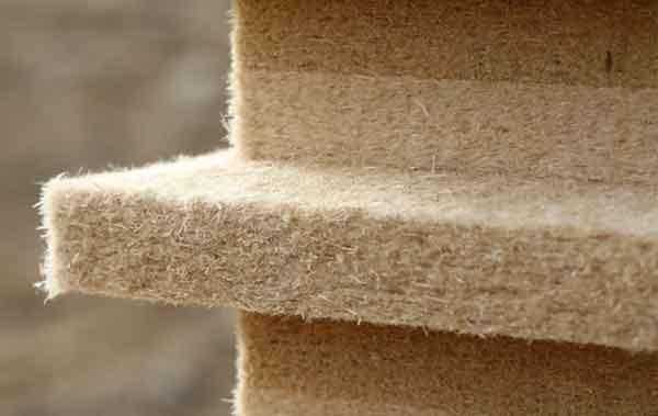 Древесно-волоконная теплоизоляция под применение в строительстве