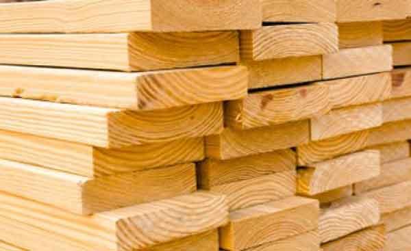 Пиломатериал древесины хвойных пород
