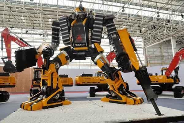 Строительная компания роботов активно набирает ход в США