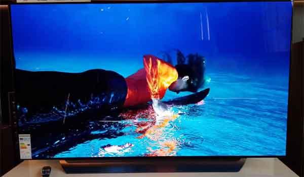 Телевизоры OLED лучшие модели LG-C8