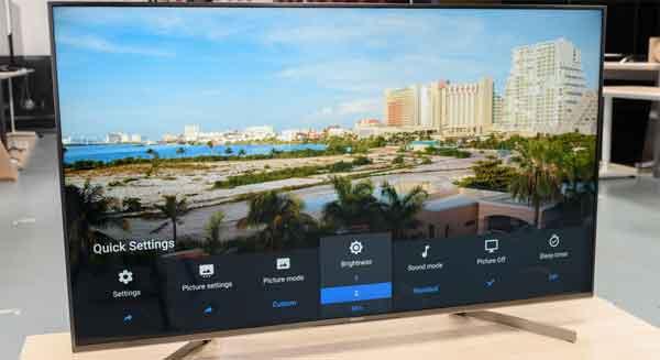 Телевизоры с большим экраном модель Sony X950G