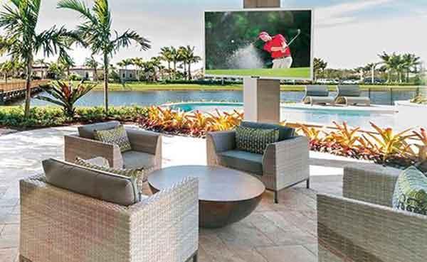 Телевизоры с большим экраном модель SunBriteTV Veranda