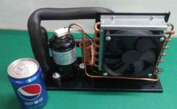 Микропроцессор: система активного охлаждения компрессионной установкой
