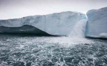 Состояние арктических льдов согласно модельному представлению учёных