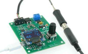 Паяльная станция своими руками на базе микропроцессора ATmega32u4