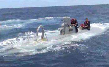 Морские лодки для перевозки наркотиков на высокотехнологичном уровне