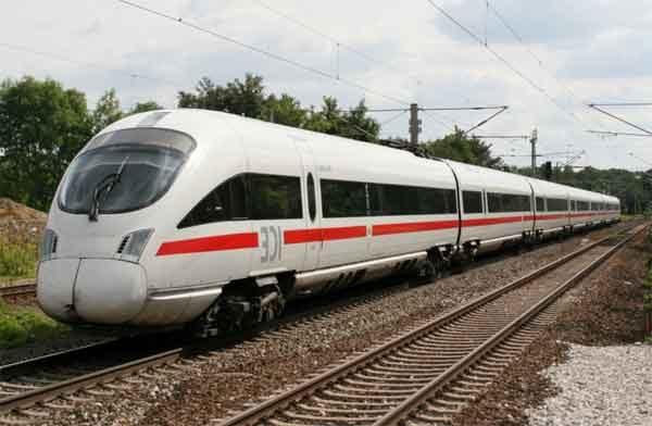 Немецкая конструкция поезда «InterCity Express»