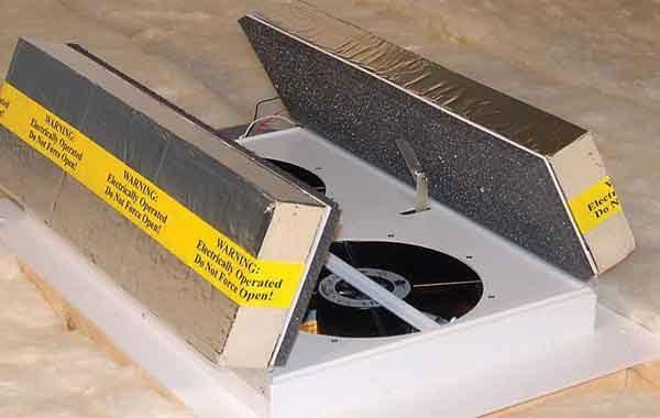 Полноценная принудительная система вентиляции