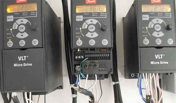 Устройства питания асинхронных электродвигателей разным напряжением