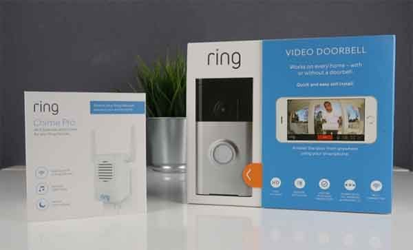 Домашний сторож Ring Video Doorbell