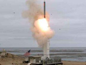 Испытания запрещённой крылатой ракеты специалистами армии США