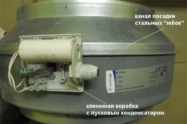 Канальный вентилятор бренда Systemair модель K315L