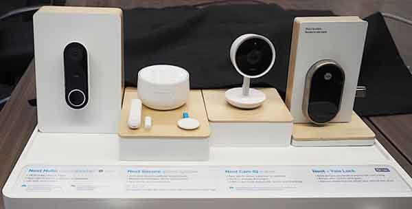Комплект оборудования домашней защиты Google Nest Hello