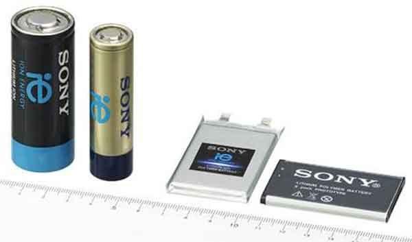 Литий-ионная аккумуляторная батарея фирмы Sony